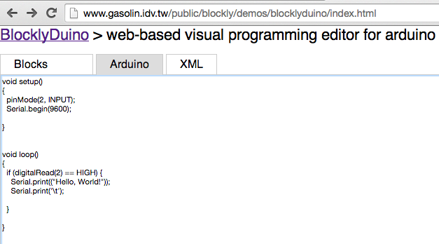 Programming an Arduino using BlocklyDuino | A Mutable Log