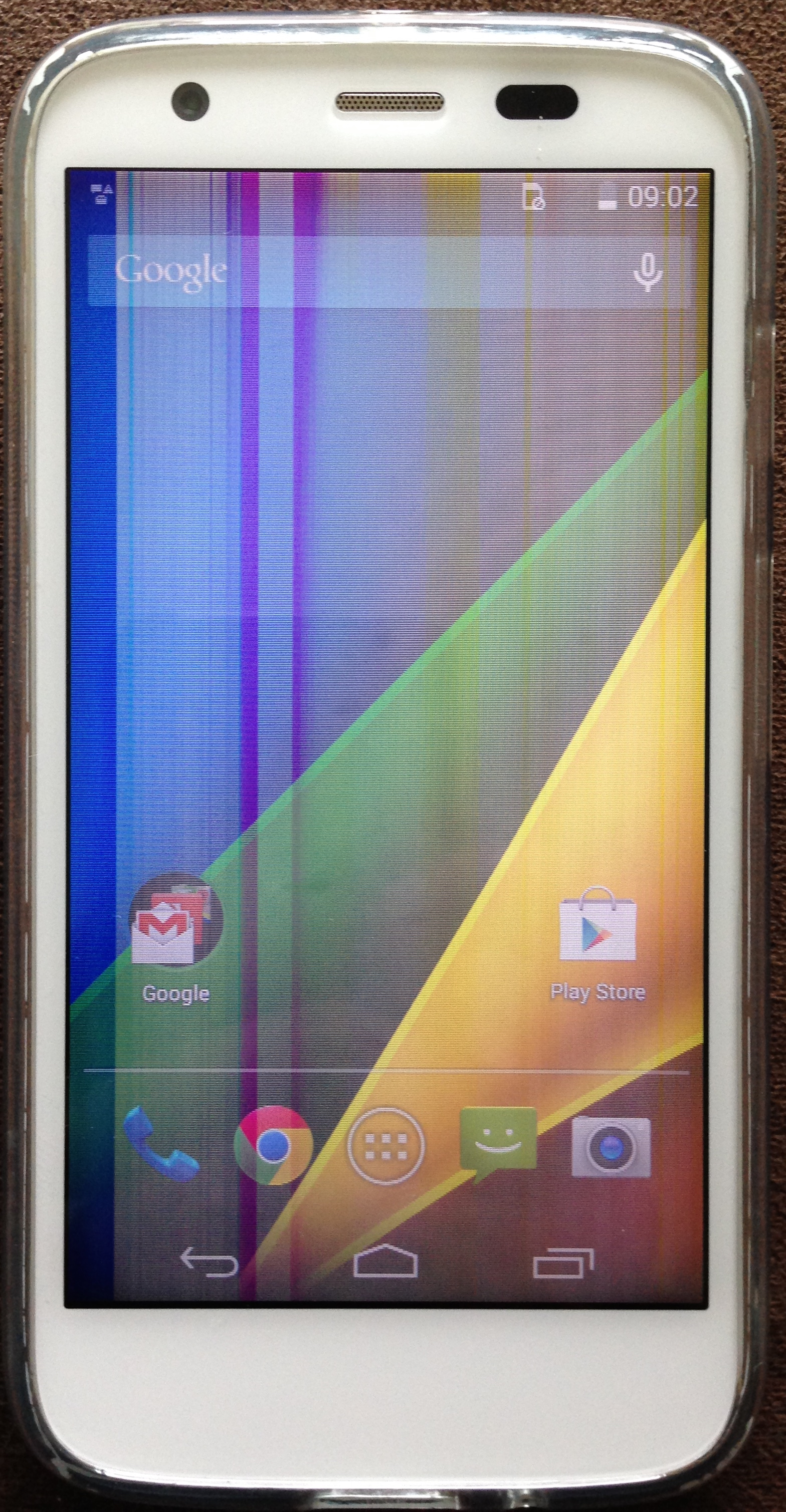 Moto G 4G screen gone bad